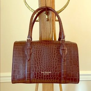 Isaac Mizrahi New York Croc-Embossed handbag